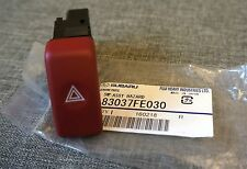 JDM Subaru Impreza 01-07 RED Hazard Button Genuine WRX STI GD GDA GDB