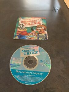 Super Solvers Mission THINK PC MAC CD learn math science puzzle game! T.H.I.N.K.