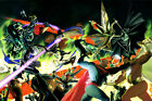 Alex Ross SIGNED Kingdom Come War Giclee on Paper Limited Edition of 50