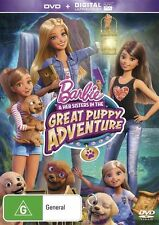 Barbie & Her Sisters In The Great Puppy Adventure : NEW DVD
