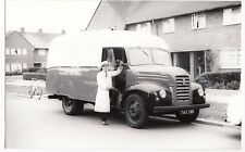 Ford Thames Delivery Van in Walls Livery, 745 TMK, BW Photo, PC Size