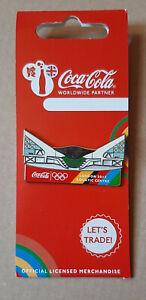 pin's Jeux Olympiques / Londres 2012 - partenariat Coca cola (centre aquatique)
