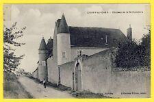 cpa France Rare CIVRAY de TOURAINE (Indre et Loire) CHÂTEAU de la GRILLONNIERE