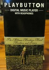 ALLMAN BROTHERS BAND Pinback Button mp3 Player; 'Brothers & Sisters Playbutton'