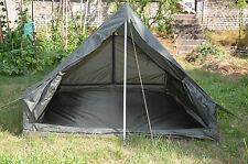 Original  Französisches Zweimannzelt oliv Franz. 2-Personen Zelt