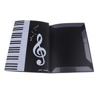 Big Storage Quaver Treble Clef Clips Piano Sheet Music Folder for Pianist