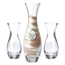 """Sandzeremonie """"Vasen"""" 3 Stück (25,4 cm, 17,1 cm) Dekoration Freie Trauung Deko"""