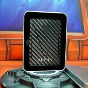 Alpha Wallet MONEY CLIP carbon fiber ultra slim credit card holder