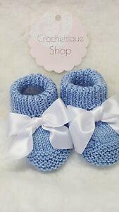 Handmade Knitt Baby Booties