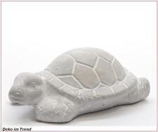 Beton Schildkröte Deko Tier Gartendeko Dekofigur Vintage Tierfigur L. ca. 14 cm