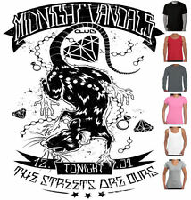 Rockabilly Machine Washable Regular Size T-Shirts for Women