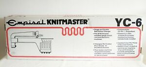 BOXED EMPISAL KNITMASTER YC6 YARN COLOUR CHANGER SINGLE AND DOUBLE BED CHANGER