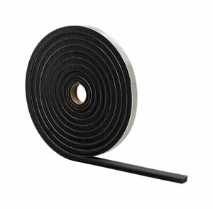 M-D Buildg Products Door and Wdow Foam Weather Strippg Tape 3/16 x 17ft L Gray