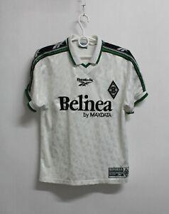 Vintage 1997 Borussia Monchengladbach REEBOK Jersey Shirt Trikot KIDS L 164 cm