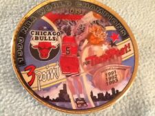 "The NBA Basketball Superstar Collector Plate Series ""Three Point for Three-Peat"