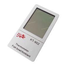 UK LCD DIGITAL FISCH REPTILIEN AQUARIUM WASSER THERMOMETER TEMPERATUR