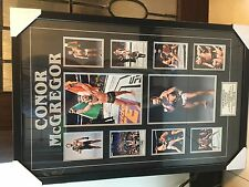 CONOR McGREGOR LARGE FRAMED UFC PHOTO DISPLAY - BEST ON EBAY - THE NOTORIUS