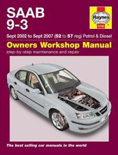 Haynes Workshop Manual Saab 9-3 2002-2007 Petrol Diesel New Service Repair