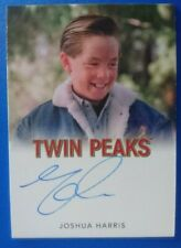 Twin Peaks Rittenhouse Archives Joshua Harris as Nicky Needleman autograph card