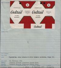 OLD EMPTY cigarette packet Venezuela #782