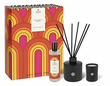 Crabtree and Evelyn Noel psychedelic Set Candle, Room spray Diffuser