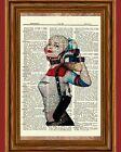 Внешний вид - Harley Quinn Suicide Squad Dictionary Art Print Poster Picture Batman Comic