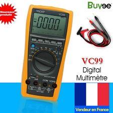 Neuf VC99 3 6/7 Gamme Auto multimètre LCD numérique Testeur KO U0VK FR