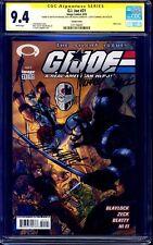 G.I. Joe #21 CAMPBELL VARIANT CGC SS 9.4 signed x2 SKETCH Zeck J.Scott Campbell
