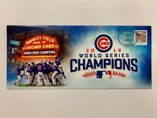 CHICAGO CUBS 2016 WORLD SERIES CHAMPIONS USPS EVENT COVER KRIS BRYANT