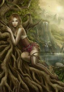 The Mountain Of Silence - 1000 piece puzzle / cris ortega, fantasy art