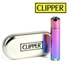 Briquet Clipper METAL RAINBOW