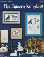Canterbury Designs THE UNICORN SAMPLER Counted Cross Stitch Leaflet 27
