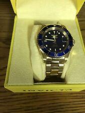 Invicta Pro Diver Automatic Blue Dial Gold-plated Mens Watch