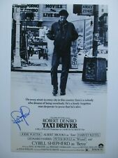 Jodie Foster Signed 11x17 Photo Taxi Driver Dc/Coa
