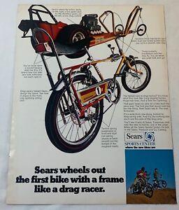 1969 Sears bicycle ad ~ SCREAMER 1