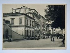 CHIAVARI Corso Gianelli animata old car auto Genova Taxi cartolina *