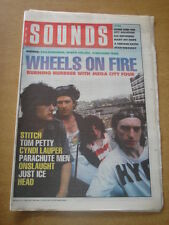 SOUNDS 1989 JUNE 3 MEGA CITY FOUR TOM PETTY CYNDI LAUPER VAN MORRISON ONSLAUGHT