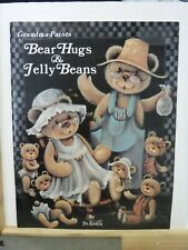 GRANDMA PAINTS BEAR HUGS & JELLY BEANS JO SONJA PATTERNS PAINTING BOOK A21046