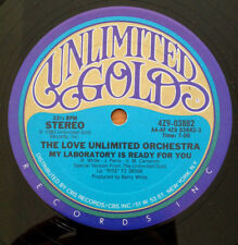 Love Unlimited Orchestra My Laboratory Is Ready For You 12 Inch Vinyl Record