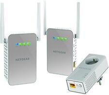 Netgear 2 Wifi Points CPL Plw1000 1 Gigabit Adapter Plp1000 in