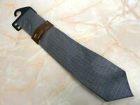 BNWT Marks & Spencer Woven Silk Men's Tie Collezione Silver #4 M&S RP£15