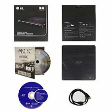 LG BP50NB40 External Ultra Slim Portable 6X Blu-ray BD RE CD DVD RW Burner USB2
