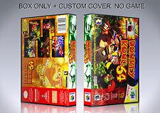 DONKEY KONG COUNTRY. NTSC. Box/Case. Nintendo 64. BOX + COVER. (NO GAME).