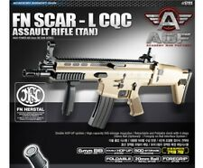 New Academy FN SCAR-L CQC Airsoft Gun Rifle #17111 Assault Rifle TAN Model Kit