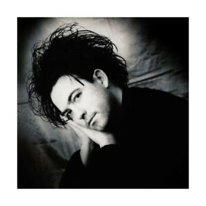 The Cure - Robert Smith's Black and White Portrait England 1989 Print 60x60cm