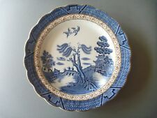 "Booths Real Old Willow - 1 Dessert or Large Side Plate - 7 3/8"" or 18.75 cm"
