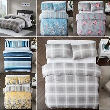 Duvet Cover Bedding Set with Pillow Cases Quilt Cover Single Double King Size