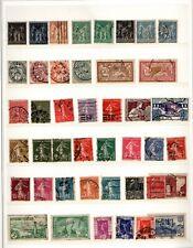 lots de timbres annees 1900