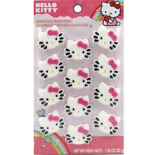 Wilton Hello Kitty Edible Icing Decorations Cake Toppers - Cupcakes, Party