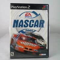 NASCAR 2001 Complete Game (Sony PlayStation 2, 2000) PS2 Racing